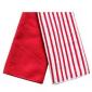 超细纤维条纹厨房巾 方巾